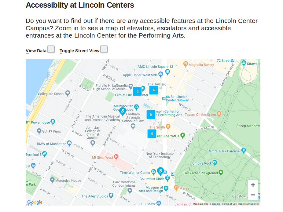 LCPA web accessible map